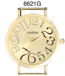 6 Narmi Solid Bar Watch Faces