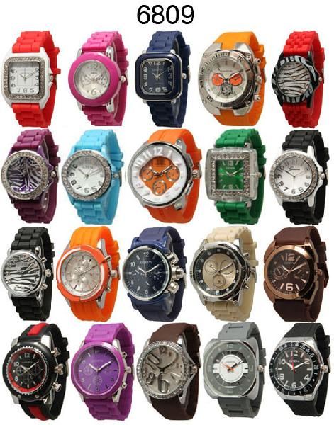 50 Assorted Silicone Watches