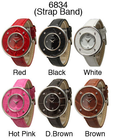 6 Narmi Women Strap Band Watches