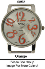 Load image into Gallery viewer, 6 Narmi Solid Bar Watch Faces