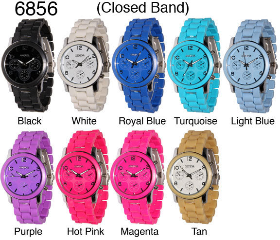 6 Closed Band Style Watches