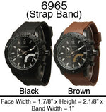 Load image into Gallery viewer, 6 Mens Strap Band Watches