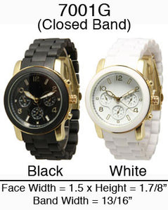 6 Closed Band Watches