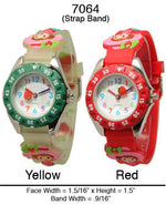 Load image into Gallery viewer, 6 Children's Strap Band Watches