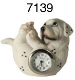 6 Dog Desktop Clocks