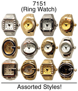 50 Assorted Ring Watches