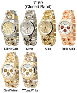 6 Women Closed band Watches