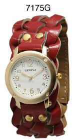 Load image into Gallery viewer, 6 Geneva Braided Strap Band Watches
