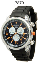 Load image into Gallery viewer, 6 Geneva Silicone Band Watches