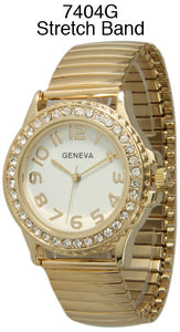 6 Geneva Stretch Band watches