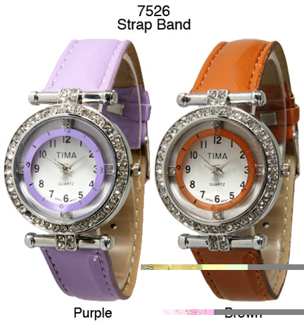 6 Women's Strap Band Watches