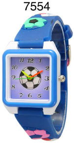 Load image into Gallery viewer, 6 Geneva Children's Silicone Band Watches