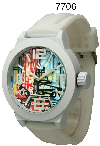 6 Silicone Band Watches