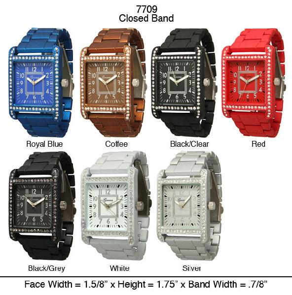 6 Geneva Aluminized Watches