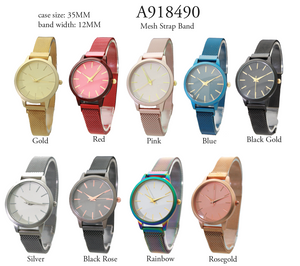 Mesh Watch Small Face - 6 Pcs