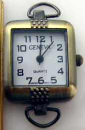 12 Geneva Antique Gold Watch Faces