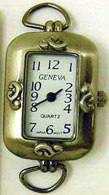 12 Geneva Antique Silver Watch Faces