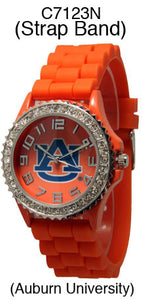 6 Auburn Licensed Collegiate Watches