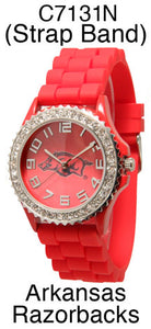 6 Arkansas Licensed Collegiate Watches
