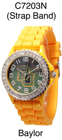 6 Baylor Licensed Collegiate Watches