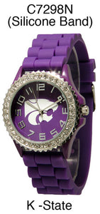 6 K-State Licensed Collegiate Watches
