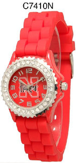 Load image into Gallery viewer, 6 Nebraska Huskers Licensed Collegiate Watches