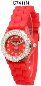 6 Texas Tech Licensed Collegiate Watches