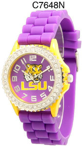 6 LSU Licensed Collegiate Watches