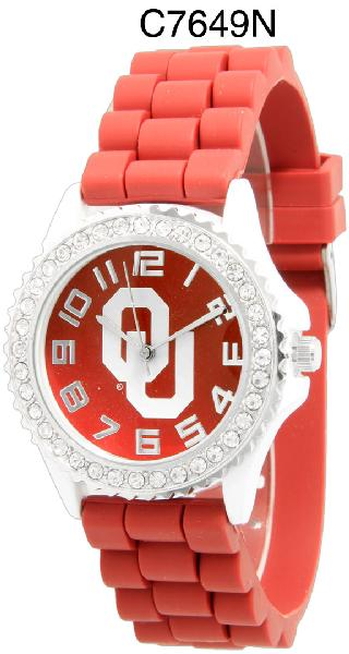 6 Oklahoma Licensed Collegiate Watches