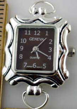 Load image into Gallery viewer, 12 Silver Tone Color Loop Watch Faces