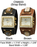 Load image into Gallery viewer, 6 Geneva Leather Band Watches