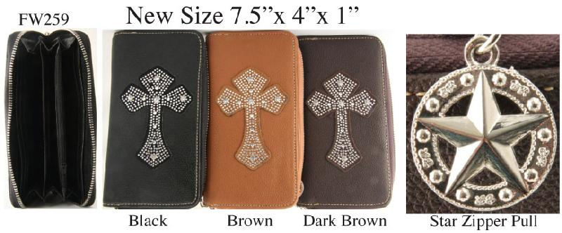 6 Womens Pouch Wallets