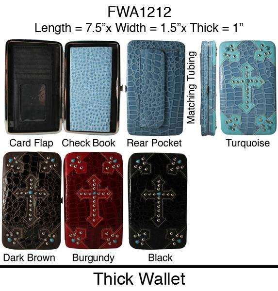 6 Thick Flat Wallets