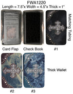 Load image into Gallery viewer, 6 Womens flat wallets