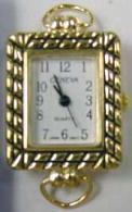 12 Gold tone with Loop Watch Faces