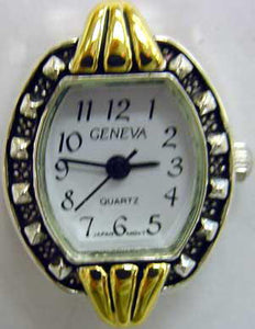 12 Two tone beading watch faces