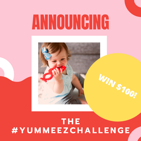 Today Lil' Sidekick is launching the #YUMMEEZCHALLENGE!