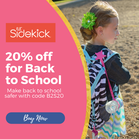 Lil' Sidekick is a must have mom hack for back to school items