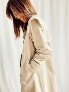 Oxford trench coat