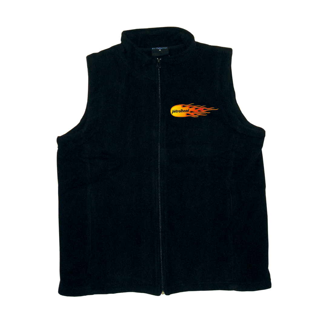 NZ Petrolhead Womens Polar Fleece Vest