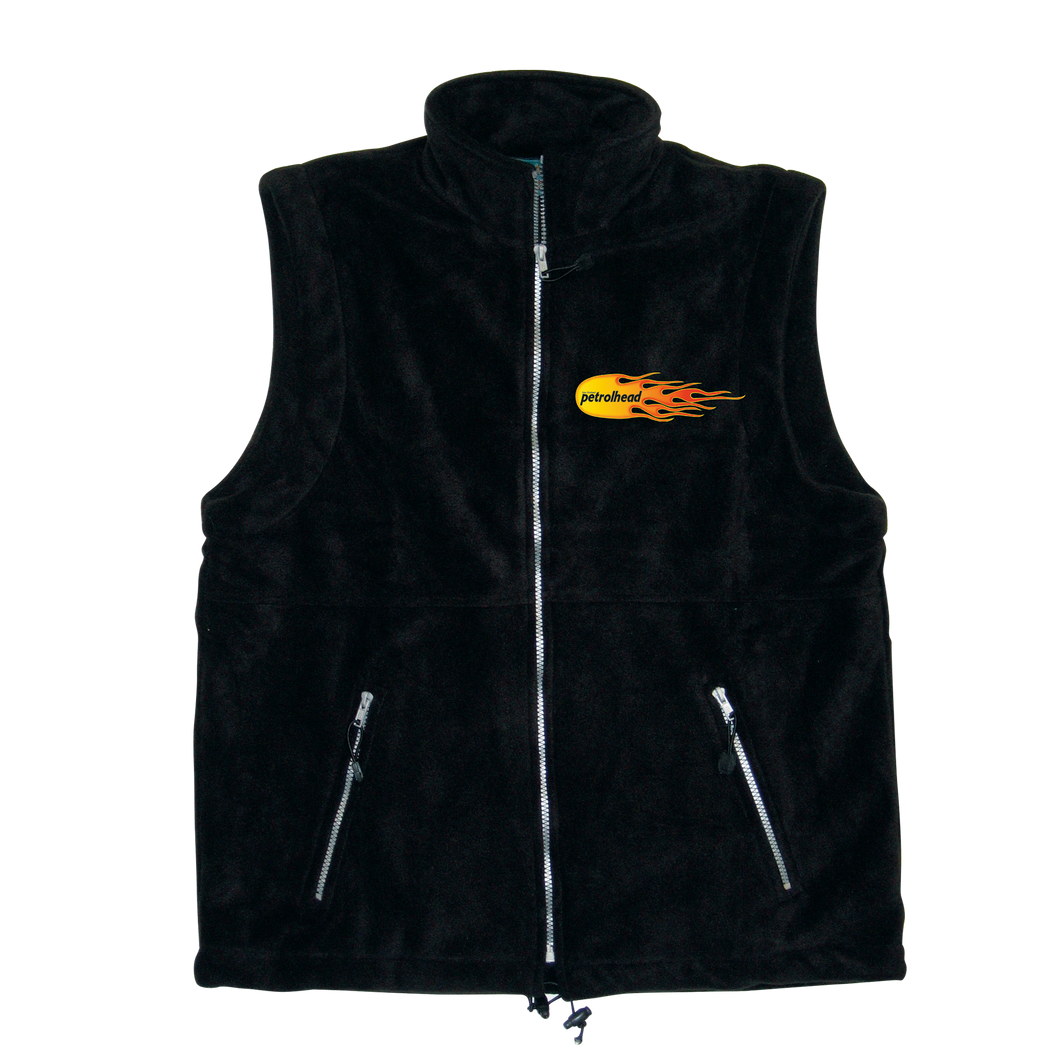 NZ Petrolhead Mens Polarfleece Vest