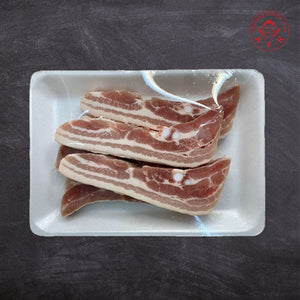 Pork Belly Cut 肚肉切条 1.5cm Stripe 500g
