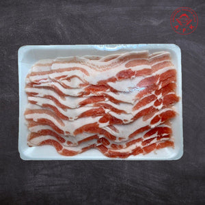 Shabu-Shabu Pork Belly Skinless 无皮肚肉切片 500g