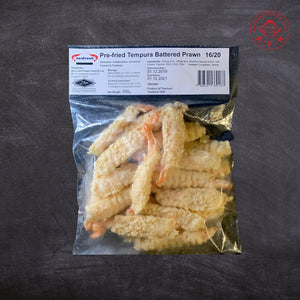 Tempura Prawn (Battered Shrimp) 16/20 500g/pkt