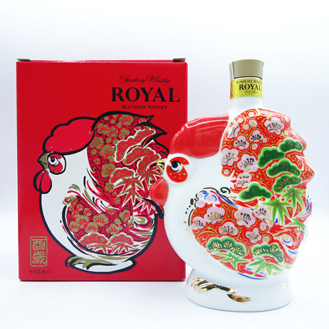 Suntory Royal - Year Of The Rooster Decanter-Whisky-Cool Rare Japan