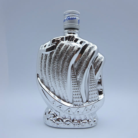 Karuizawa Gloria Ocean Whisky Silver Ship Bottle 300ml-Whisky-Cool Rare Japan
