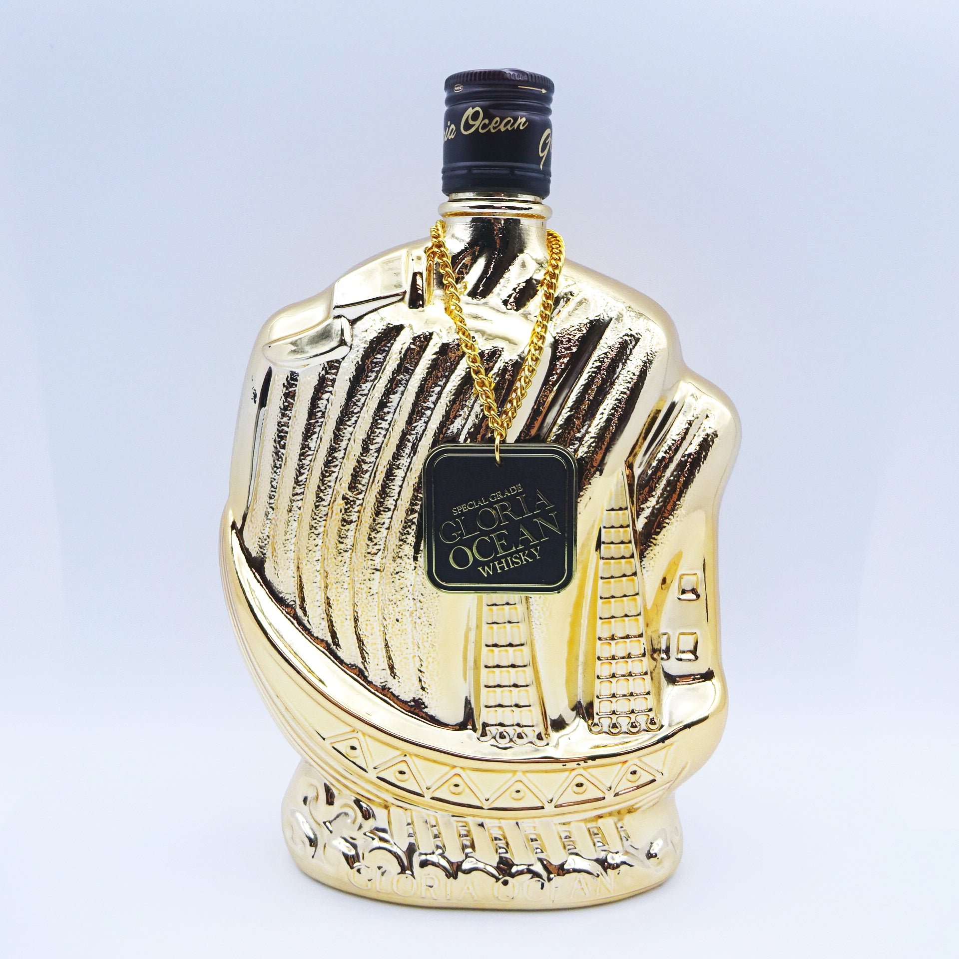 Karuizawa Gloria Ocean Whisky Gold Ship Bottle 1980s-Whisky-Cool Rare Japan