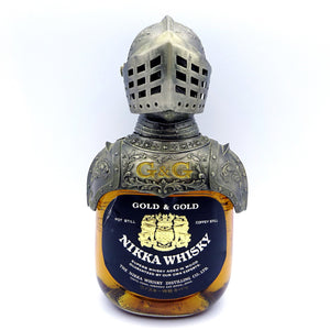 Nikka Gold & Gold with Knight Ornament G&G-Whisky-Cool Rare Japan