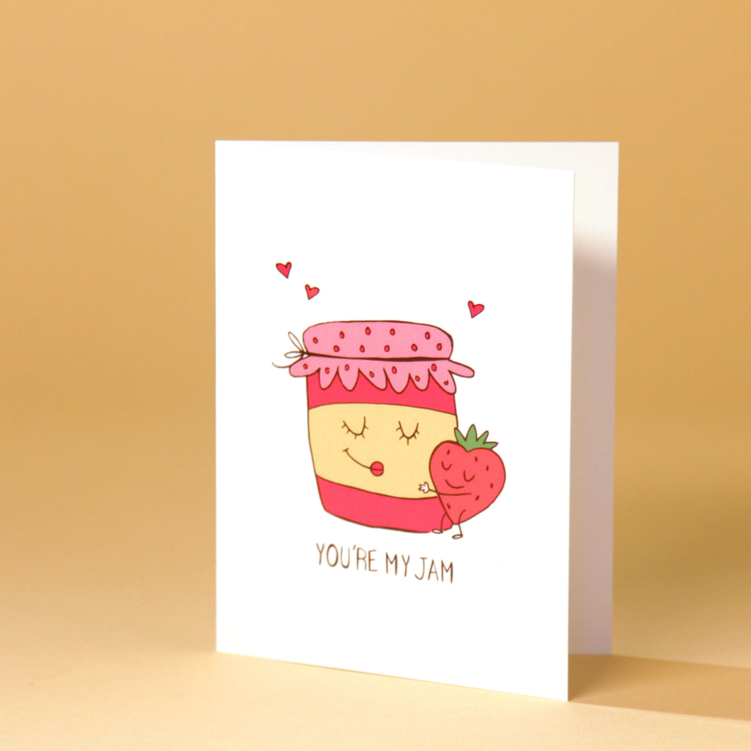 You're My Jam - Card