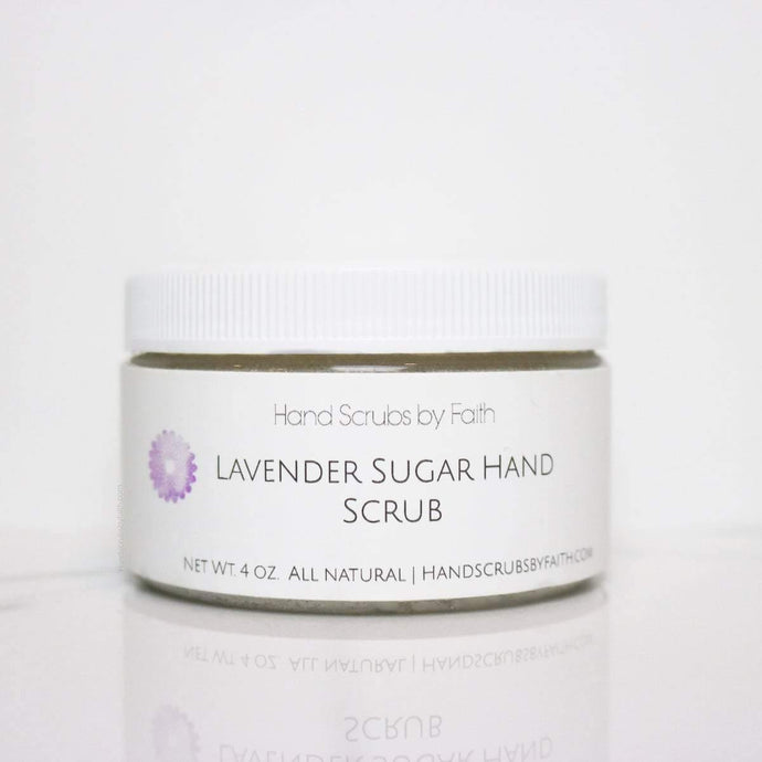 Lavender Sugar Hand Scrub - Love thy Neighbor Store